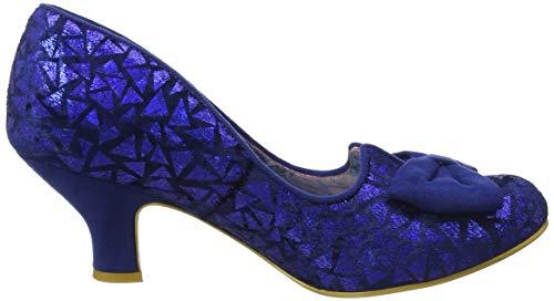 Donna Az Col Tacco Dazzle Chiusa blue Irregular Metallic Punta Blu Choice Razzle Scarpe qwFRy8U1
