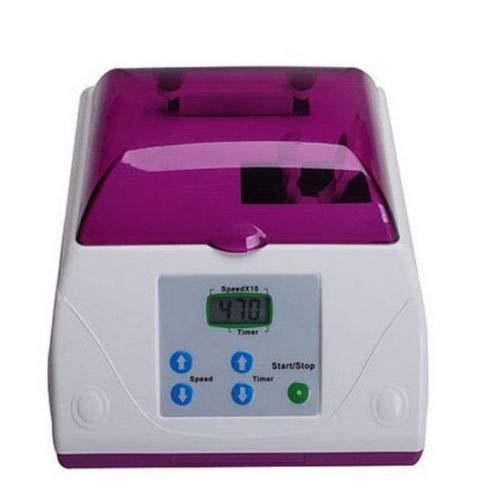 (Modern Capsule Blender Mixer 110V 60HZ AC Digital LCD Display Screen Dental Amalgamator Amalgam Capsule Mixer Purple)