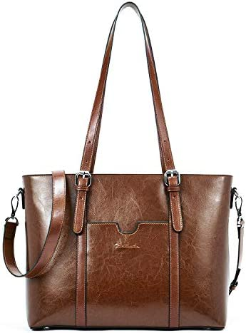 BOSTANTEN Leather Shoulder Briefcase Computer product image
