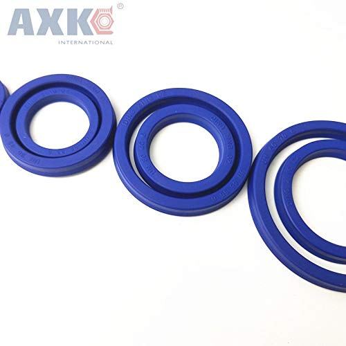 Gimax Buffer UNS Cup Seal ID=13mm-15 mm U Cup Single Lip Hydraulic Cylinder Piston and Rod Seal U Ring Polyurethane (PU) Rubber - (Size: 13x19x5)