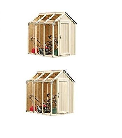 Amazon Com Hopkins 90190 2x4basics Shed Kit Barn Style