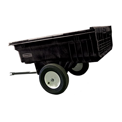 Rubbermaid-Commercial-Tractor-Cart-1200-lbs-Capacity-Black-FG566000BLA