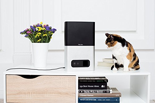 Petcube Bites Pet Camera: Flings Treats, 1080p HD Video, 2-Way Audio, and Night Vision