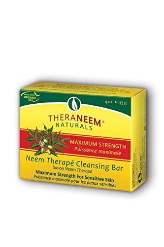 Maximum Strength Neem Oil Soap Organix South 4 oz Bar Soap