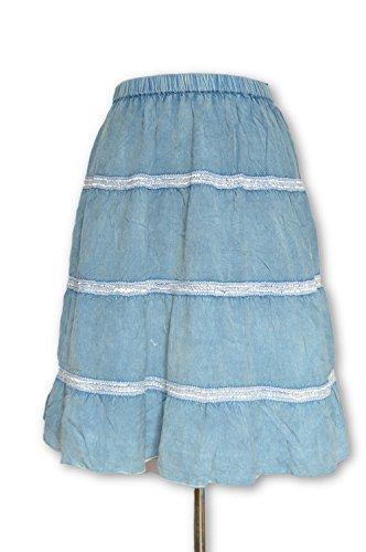 Women Rayon Beautiful Summer wear Short Skirt by YOUDLEE