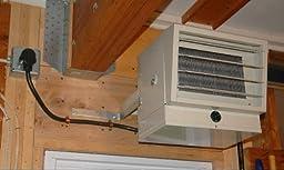 Fahrenheat Fuh54 240 Volt Garage Heater 2500 5000 Watt