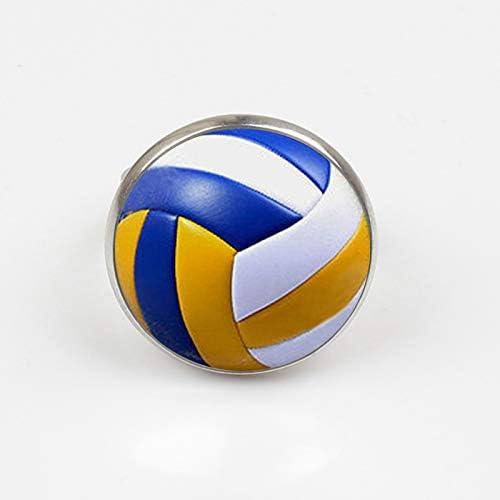 Anillo de voleibol vintage para hombre 2018 con diseño antiguo y ...