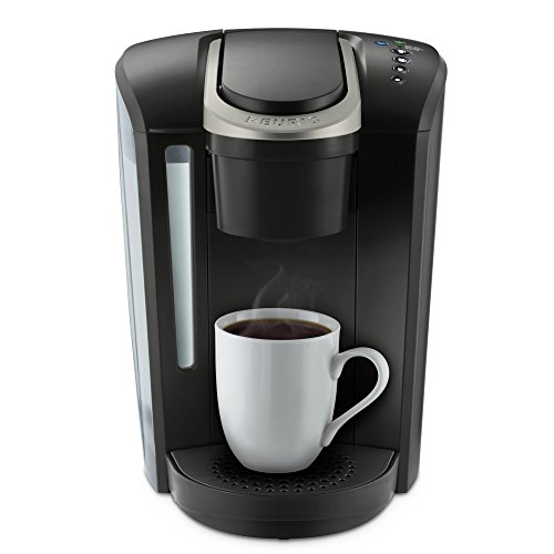 Keurig K-Select Single Serve K-Cup Pod Coffee Maker, With Strength Control and Hot Water On Demand, Matte Black (Certified Refurbished)