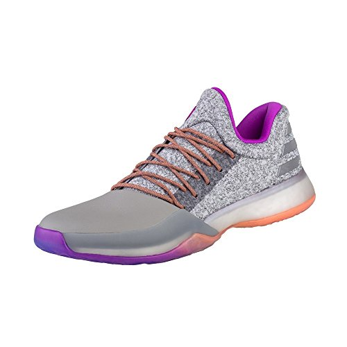 violet Hommes Chaussures Adidas De Basket Grey ball Harden 1 white Vol x7wtwqgv