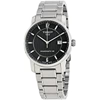 Tissot Men's T0874074405700 T-Classic Analog Display Swiss Automatic Silver Watch