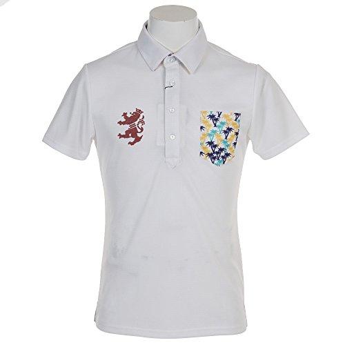 航空会社交換背が高いアドミラル Admiral 半袖シャツ?ポロシャツ パーツ マイクロヤシの木 半袖ポロシャツ