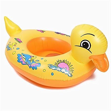 Colchón hinchable circular para natación, piscina de pato ...