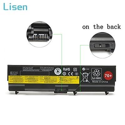 Lisen T430 Laptop Battery for Lenovo ThinkPad 70+ T410 T420 T420i T430 T510 T520 T530 W510 W520 W530 L412 L420 L430 L512 L520 L530,Fits P/N: 0A36303 45N1001 0A36302 42T4791 45N1011 45N1005 42T4235 by Lisen®