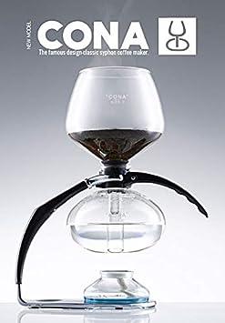 CONA Size D-Genius All-Glass cafetera de vacío.: Amazon.es: Hogar
