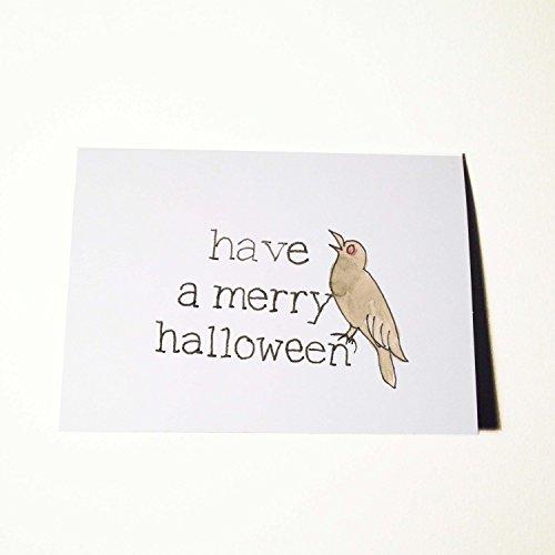 Merry Halloween Card -