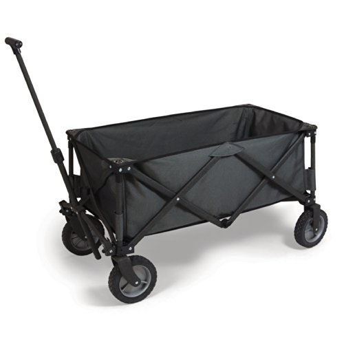 ONIVA - a Picnic Time brand Collapsible Adventure Wagon, Dark Grey