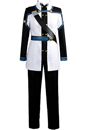 Sword Art Online Kazuto Kirigaya Cosplay Costume (Ya-cos Sword Art Online the Movie Ordinal Scale OS Kirito Kirigaya Kazuto Cosplay Costume Uniform)