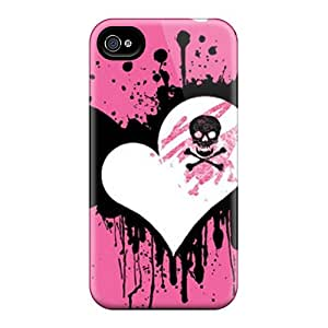 Iphone 6plus PGW23848vMsC Custom Realistic Pink Heart Pattern Bumper Phone Case -cases-best-covers
