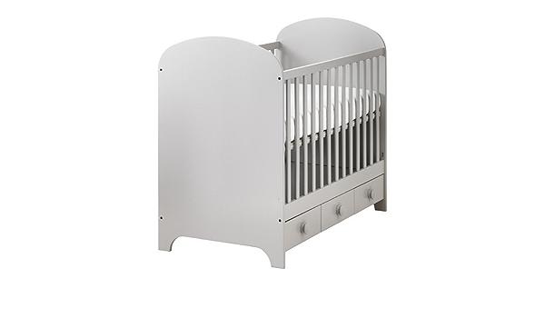 IKEA GONATT - Cuna, gris claro - 60x120 cm: Amazon.es: Hogar