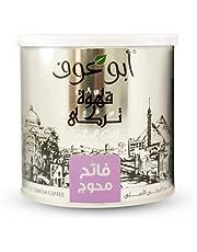 قهوة تركية فاتحة من أبو عوف- 250 جم