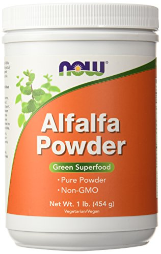 Alfalfa Powder Now Foods 1 lbs Powder (Powder Juice Alfalfa)