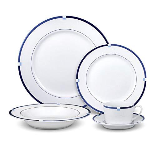 Mikasa Jet Set Blue Dinnerware Set (60 piece)