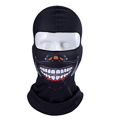 Orcs Clown Jocker Snowboard Tactical Military Army Bicycle Winter Halloween Party Hats Full Face Mask -