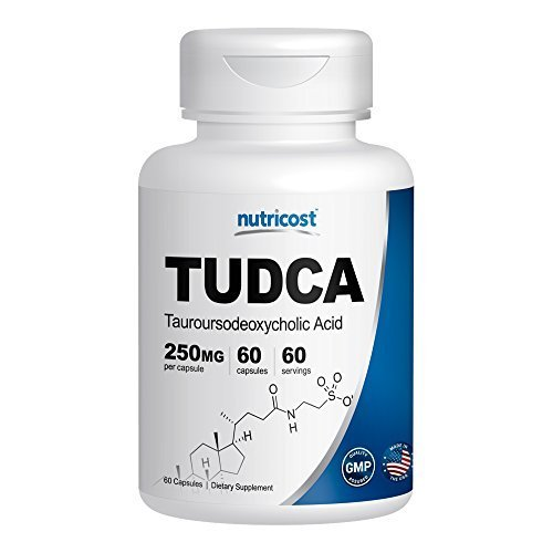 Nutricost Tudca 250mg Capsules Tauroursodeoxycholic product image
