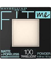 Maybelline New York Matte + Poreless Pressed Face Powder Makeup, Translucent, 8.5 Grams