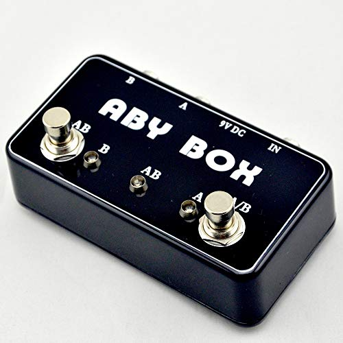 2019 Hand Made ABY Selector Switch True- Bypass Amp/Guitar AB B