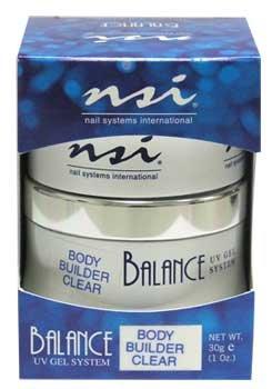 NSI Balance UV Gel - Body Builder Clear - 1oz / 30g