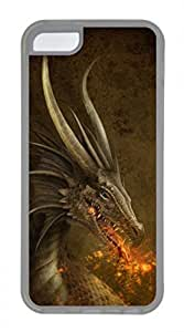 iPhone 5c case, Cute Dragon iPhone 5c Cover, iPhone 5c Cases, Soft Clear iPhone 5c Covers