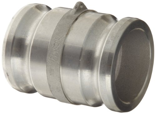 Dixon 300-AA-AL Aluminum Cam and Groove Hose Fitting, Spool Adapter, 3'' Plug by Dixon Valve & Coupling (Image #3)