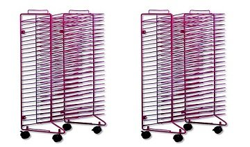 Sax Stack-a-Rack Modular Mobile Drying Rack - 17 x 21 x 30 i