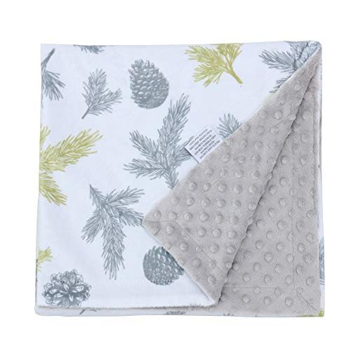 - Millian Baby Minky Dot Warm Baby Blanket (X-Large) Soft, Plush, Double-Layered Comfort | Gender Neutral Receiving Blankie for Boys and Girls