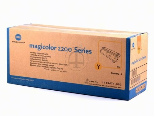 002 Yellow Laser Toner Cartridge - 4