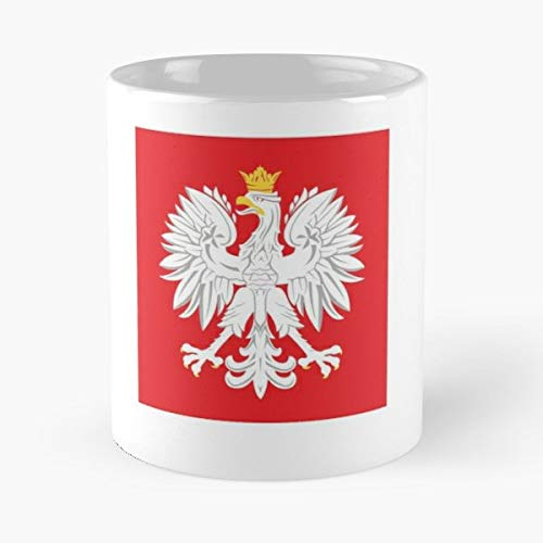 Polish Eagle Graphics Bumper - Unique Gift Ideas For Her From Daughter Or Son Fun Bday Present A Mother And Father Cool Novelty Cup 11 Oz.