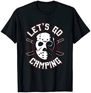 [Featured] Camping Scary Mask Horror Movie Novelty Let's Go Camping in ALL styles | Size S - 5XL