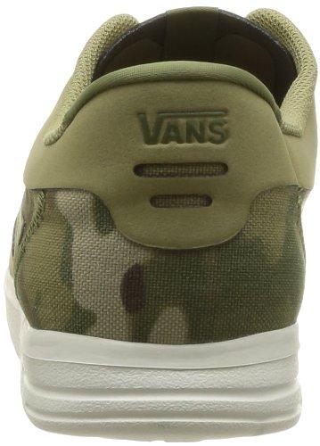 Vans - Zapatillas de deporte de material sintético para hombre Khaki/Olive 41