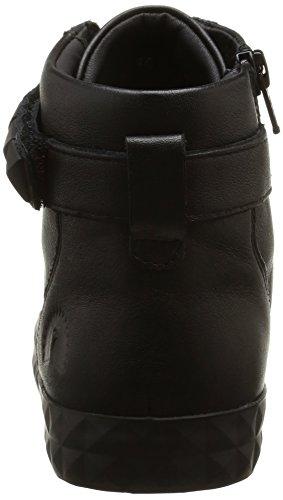 Hautes Liscio Geox Noir Prudence Sneakers C9999 B Vit Femme qwzwHF