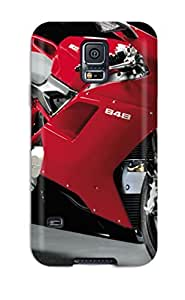 For Galaxy S5 Protector Case Motorcycle Pictures Phone Cover