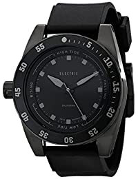 Electric Men's EW0140030005 DW03 PU Band Analog Display Swiss Quartz Black Watch