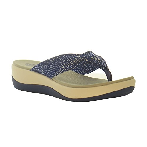 clarks-arla-glison-womens-toe-post-sandals-7-d-m-uk-95-bm-us-blue-white