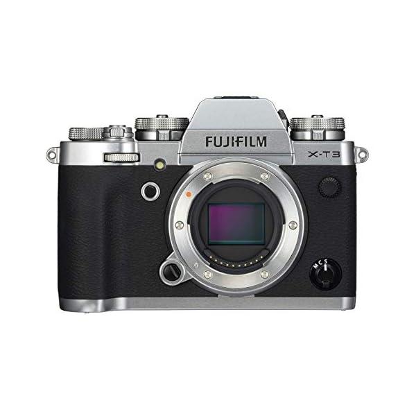 "RetinaPix Fujifilm X-T3 26.1 MP Mirrorless Camera Body (APS-C X-Trans CMOS 4 Sensor, X-Processor 4, EVF, 3"" Tilt Touchscreen, Fast & Accurate AF, Face/Eye AF, 4K/60P Video, Film Simulation Mode) - Silver"