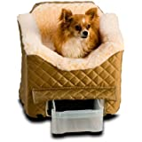 Snoozer Lookout II Pet Car Seat, Small II, Khaki