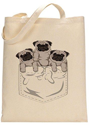 Pug Custom Made Tote Bag