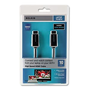 Belkin AV10065-10 10' HDMI Cable by Belkin Components
