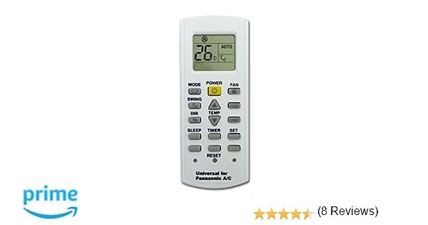 Kt-pn - Mando a distancia para aire acondicionado climatizador Panasonic, bomba de calor, inversor: Amazon.es: Hogar