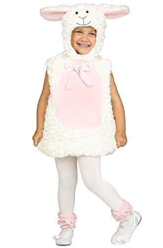 Fun World 117641L Sweet Lamb Toddler Costume, Large