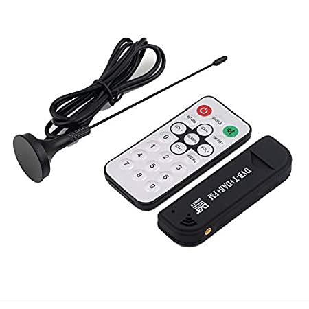 USB 2.0 Digital DVB-T SDR+DAB+FM HDTV TV Tuner Receiver Stick HE RTL2832U+FC0012